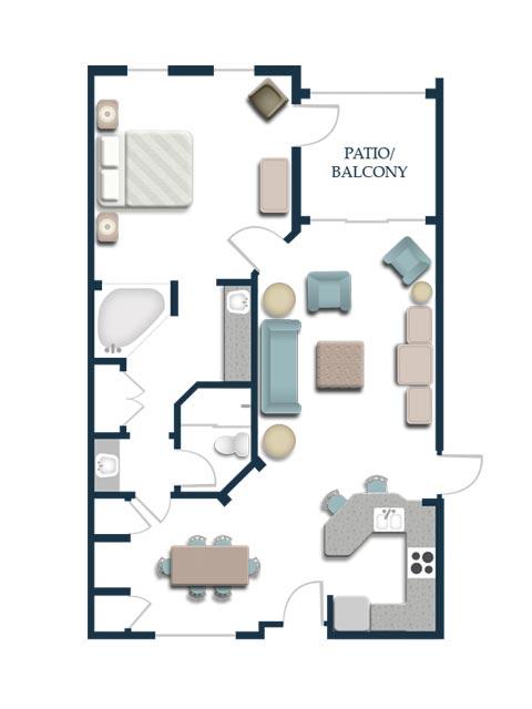 One-Bedroom Premium Villa